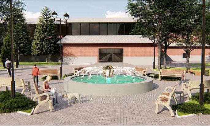 Новый фонтан в Силламяэ хотят достроить раньше срока
