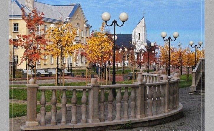 Осень на Приморском бульваре Силламяэ