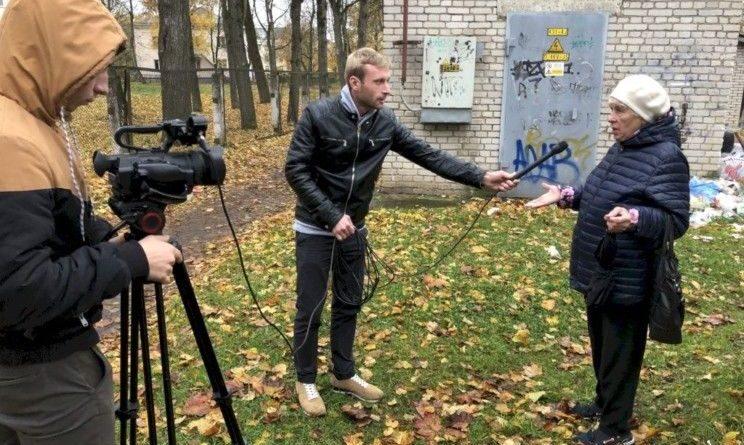 17.10.2019 РАБОЧИЕ БУДНИ ESN TV В ГОРОДЕ СИЛЛАМЯЭ
