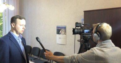 16.10.2019 рабочие будни ESN TV в городе Силламяэ