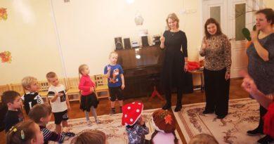 Детский сад «Пяэсупеса» в г. Силламяэ, посетило посольство Дании
