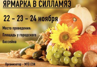 ЯРМАРКА В СИЛЛАМЯЭ 22-23-24 НОЯБРЯ
