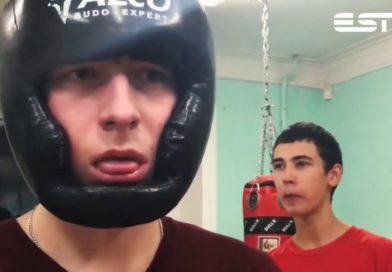 Тренировка по боксу в молодежном центре ESN г. Силламяэ (обзор)