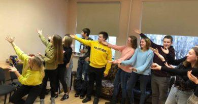 Волонтерский клуб Силламяэ в хорошем настроении на выходных