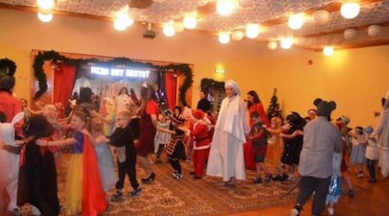 Зимний карнавал в детском саду Руккилилль