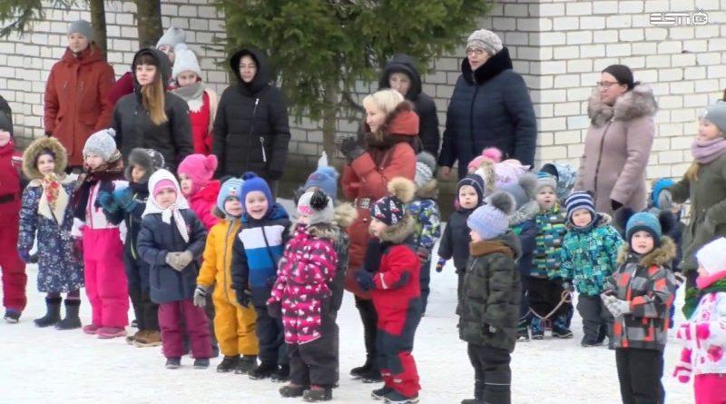 28.02.2020 Прямой эфир Проводы зимы в детском саду Jaaniussike г. Силламяэ