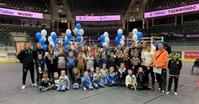 15 февраля, в рамках Игр боевых искусств, проходящих в Tondiraba, состоялся Чемпионат Эстонии по тхэквондо.