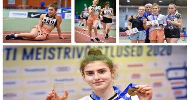 Легкоатлеты Силламяэ вновь отличились на чемпионате Эстонии