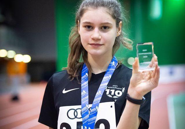 Новый молодежный рекорд Эстонии в спортивной ходьбе
