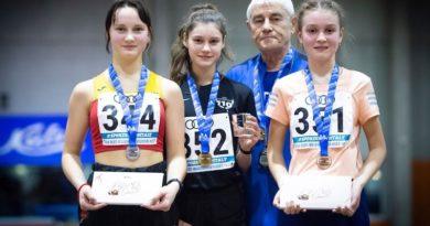 Юные легкоатлеты Силламяэ отличились на чемпионате Эстонии