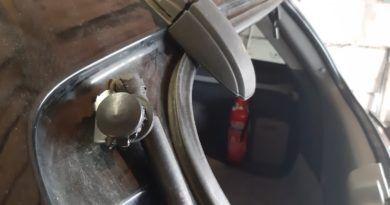В Силламяэ бьют стекла в машинах