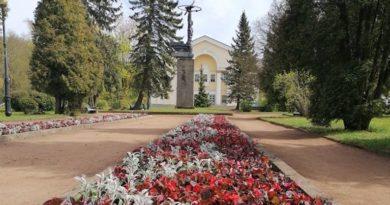 В Силламяэ началась посадка цветов