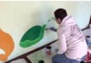 Волонтеры ESN работают в команде вместе с детским садом Pääsupesa