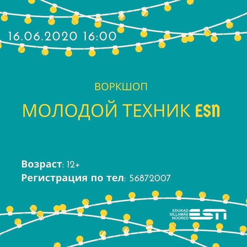 Воркшоп молодой техник ESN
