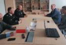 Встреча с представителями спасательного депортамента
