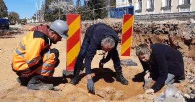 Инфочас на тему обнаруженного в Силламяэ старого кладбища