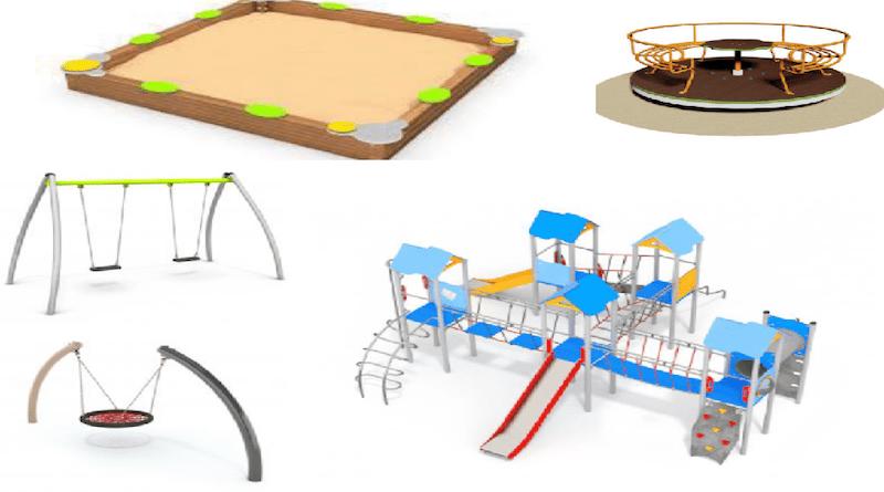 В Силламяэ будет обновлена детская игровая зона в городском парке
