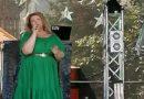 Лора Фебруари выступила на песенном марафоне 2.0  в Силламяэ