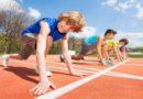 Проводится набор детей в секцию легкой атлетики в г. Силламяэ