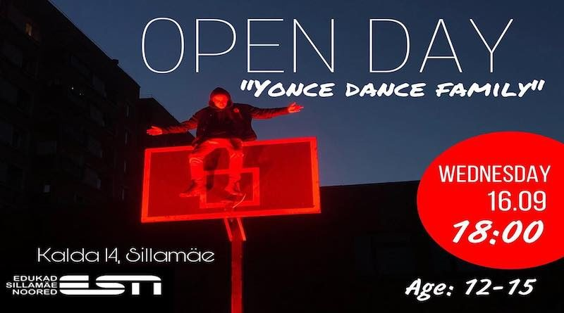 Open Day ,,Yonce Dance Family,, 16.09.2020 в ESN