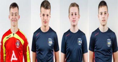 Молодые звезды Силламяэ на тренировке сборной Эстонии У 16