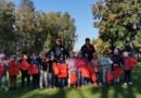 Тренера Sillamäe JK DINA провели детский спортивный праздник в детском саду Pääsupesa