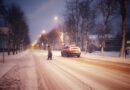Снег в Силламяэ