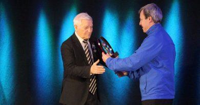 80 лет исполнилось тренеру, который когда-то работал с Львом Яшиным, а сейчас тренирует силламяэских футболистов