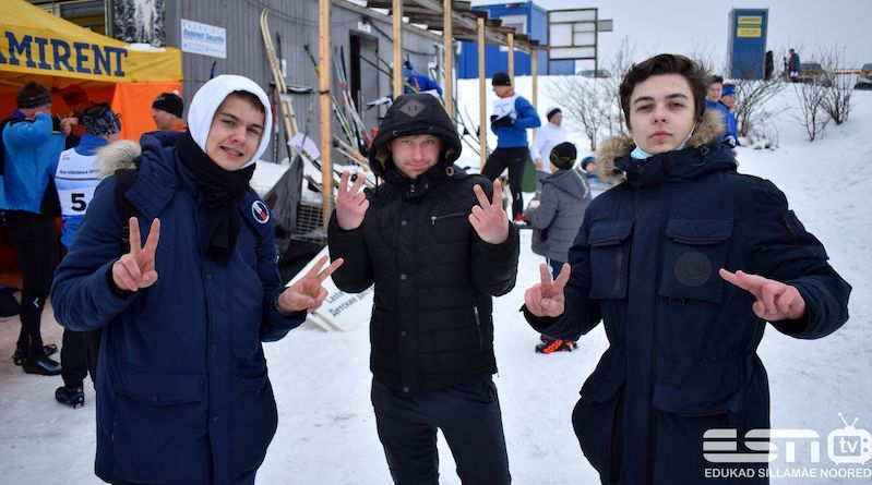 24.02.2021 Праздник республики на Ореховой горке в Нарве (foto Uljana Tammi)