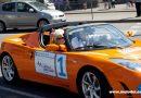 2 июня 2011 Таллинский марафон электро автомобилей с участием принца Монако Алберт II