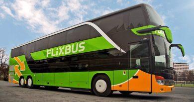 FlixBus 🚌 открывает линию Таллин-Петербург-Таллин