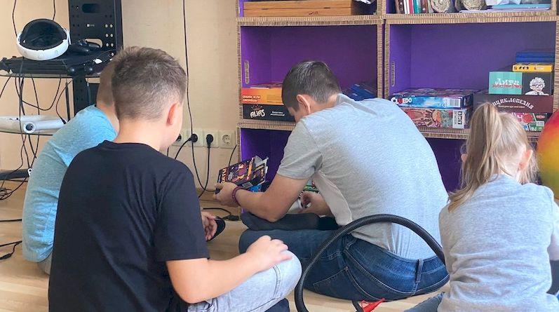 В Силламяэ открыта игровая комната для детей